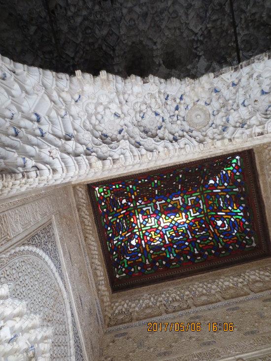 アルハンブラ宮殿_リンダラハ_バルコニー天井