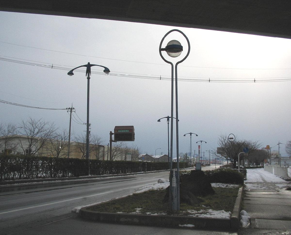洋食器デザインの街灯