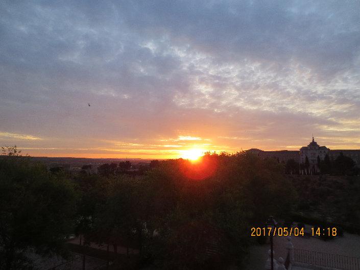 スペイン_トレド_朝の風景