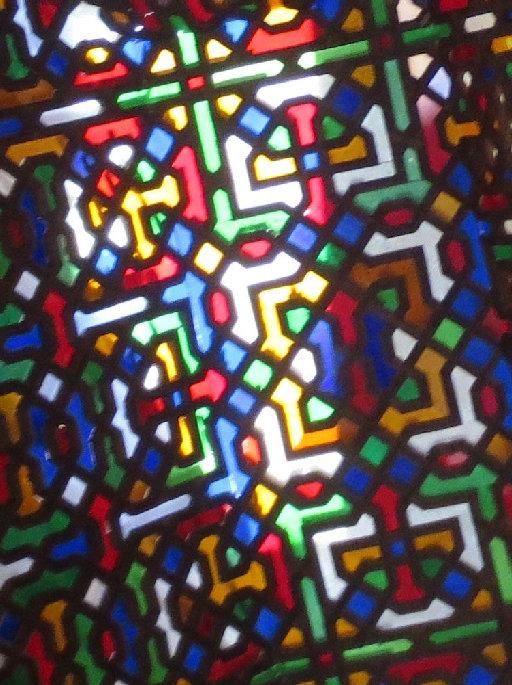 アルハンブラ宮殿_リンダラハのステンドグラス
